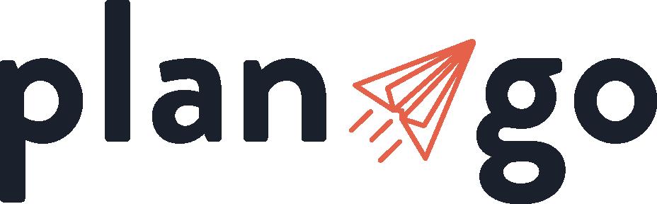PlanGo logo blauw